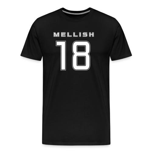 Mellish Number White - Men's Premium T-Shirt