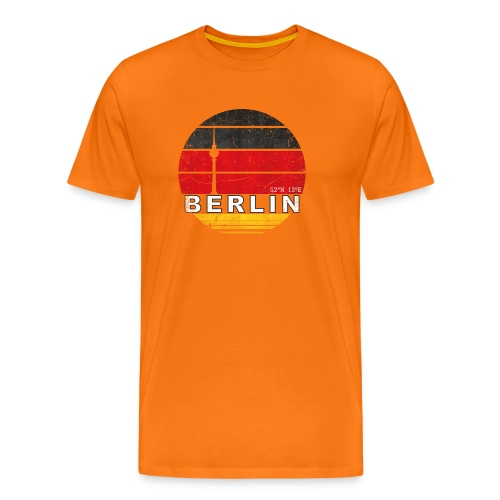 BERLIN, Germany, Deutschland - Men's Premium T-Shirt