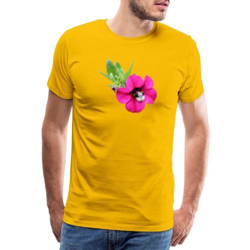 Miljoonakello ja kimalainen - Miesten premium t-paita