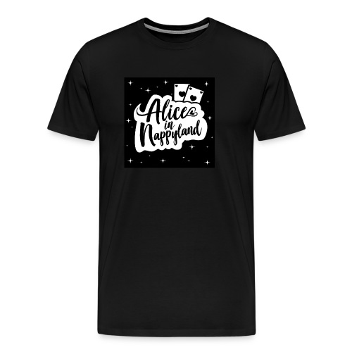 Alice in Nappyland 1 - Men's Premium T-Shirt