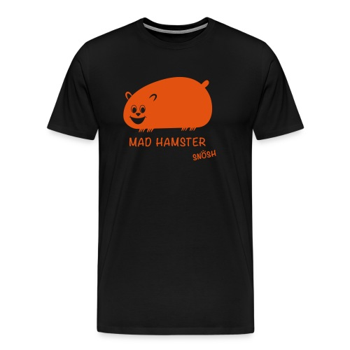 Mad Hamster orange - Men's Premium T-Shirt