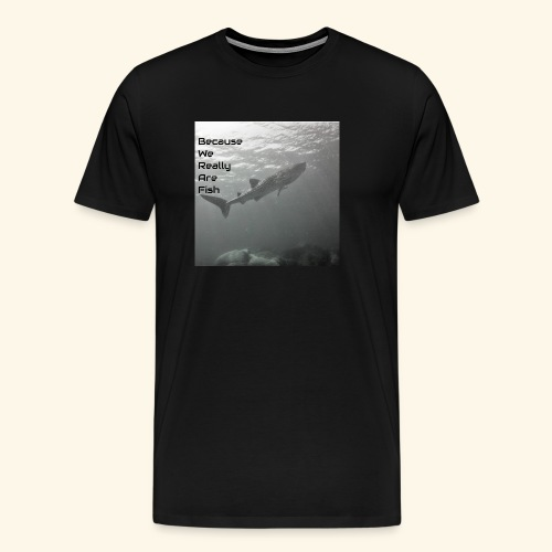 Buddy Check Whale Shark - Men's Premium T-Shirt