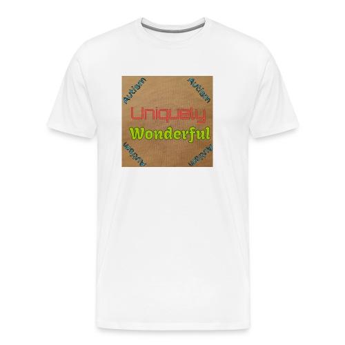 Autism statement - Men's Premium T-Shirt