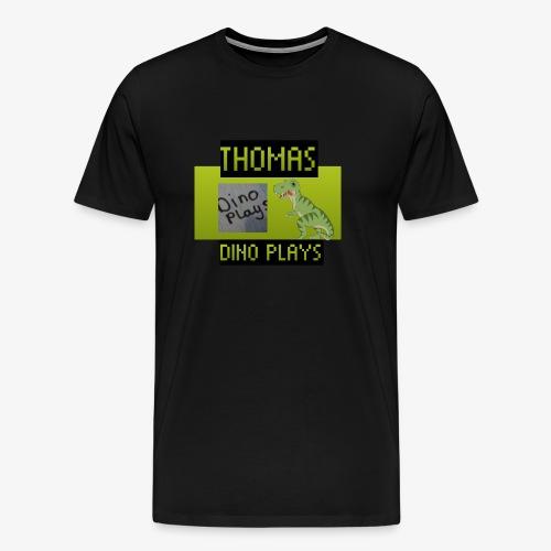 OFFICIAL DINO PLAYS MERCH - Men's Premium T-Shirt