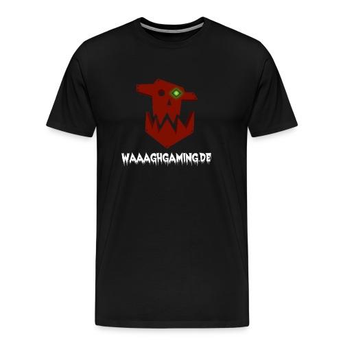 waaaghgaming_url_weiss - Männer Premium T-Shirt