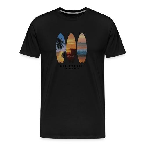Cali Palms - Camiseta premium hombre