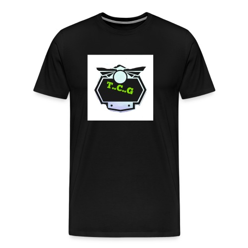 Cool gamer logo - Men's Premium T-Shirt