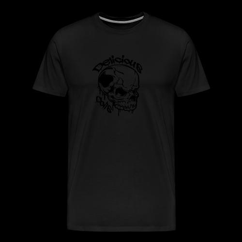 Logo Mode Schwarz - Männer Premium T-Shirt