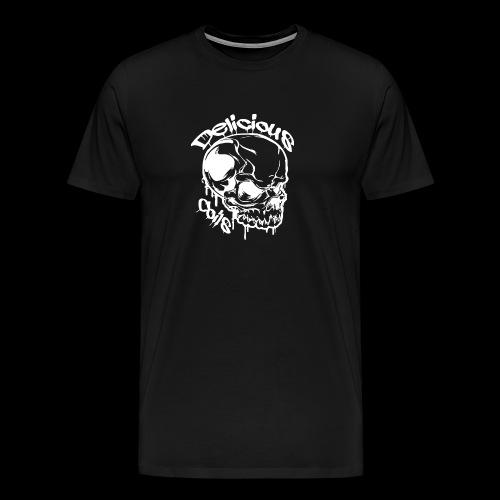 Logo Mode Weiss - Männer Premium T-Shirt