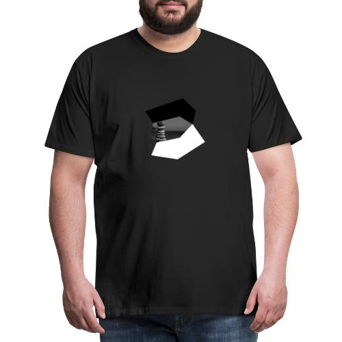 Dreams (black and white) - Männer Premium T-Shirt