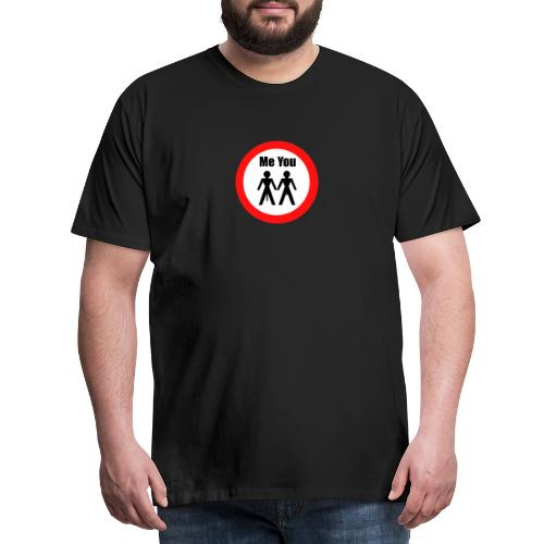 Penisvergleich - Männer Premium T-Shirt