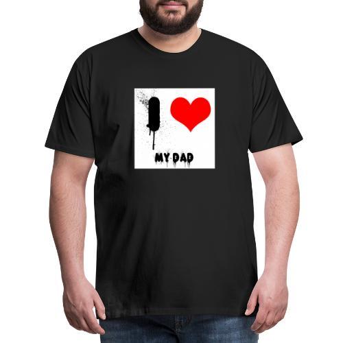 I love my Dad - Männer Premium T-Shirt