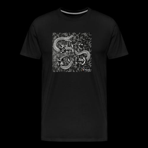 Bite hard - Herre premium T-shirt