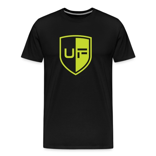 uFit Logo - Men's Premium T-Shirt