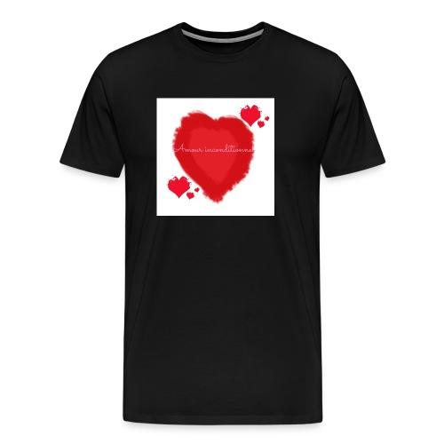 Amour inconditionnel - T-shirt Premium Homme