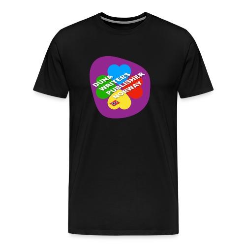 Duna Writers - Premium T-skjorte for menn