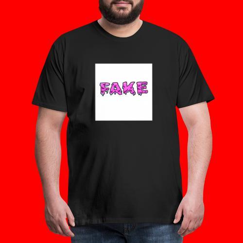 grime.art FAKE - Mannen Premium T-shirt