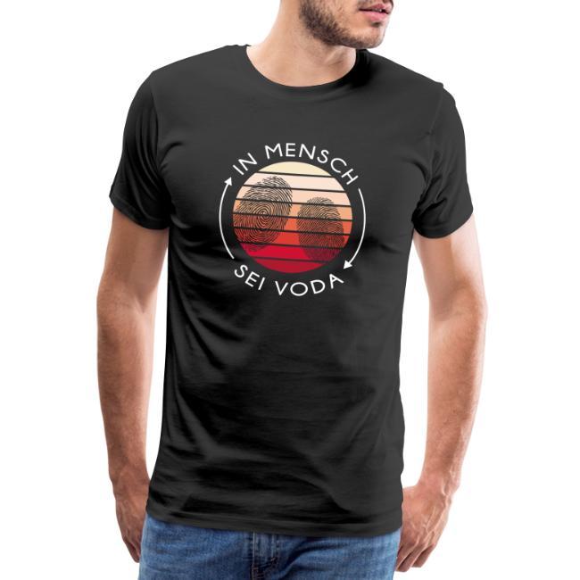 Vorschau: In Mensch sei Voda - Männer Premium T-Shirt