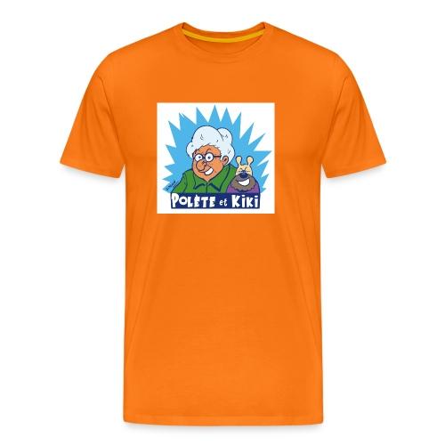 tshirt polete et kiki 1 - T-shirt Premium Homme