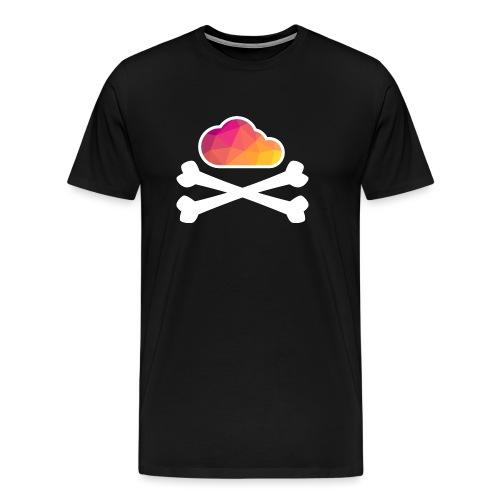 New Pirate Cloud in color - Men's Premium T-Shirt