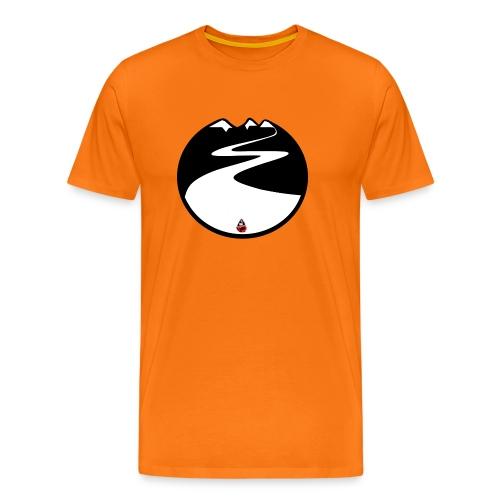 Montagne noire - T-shirt Premium Homme
