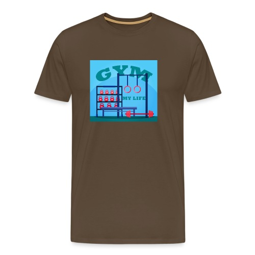 GYM - Miesten premium t-paita