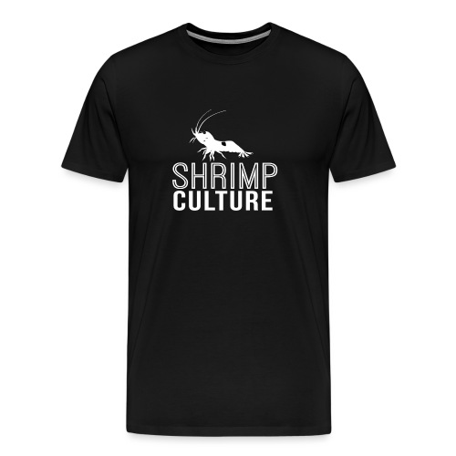 SHRIMP CULTURE [BLANC] - T-shirt Premium Homme