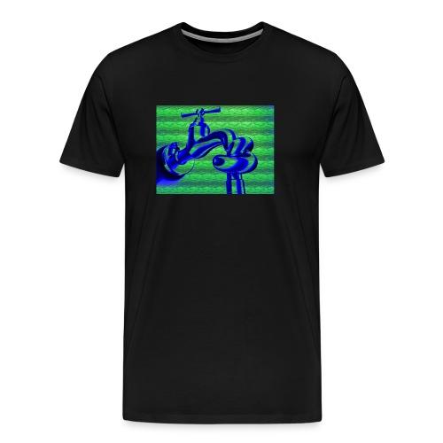 Water- water =DORST - Mannen Premium T-shirt