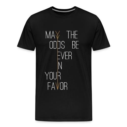 Hunger Games - Mannen Premium T-shirt