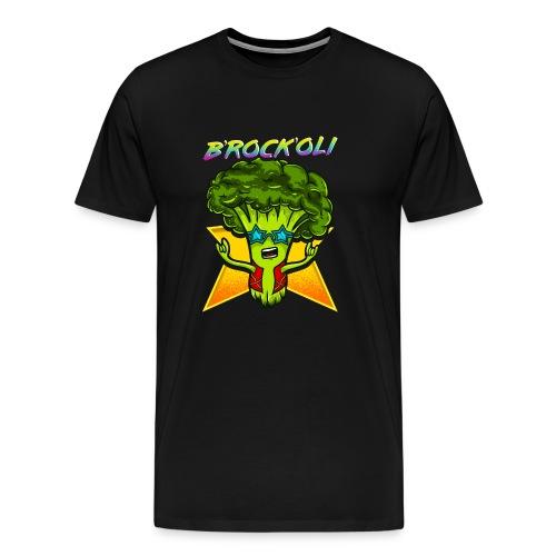 Brockoli das Rockende Brokkoli Geschenk - Männer Premium T-Shirt