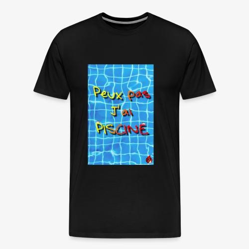 La piscine - T-shirt Premium Homme