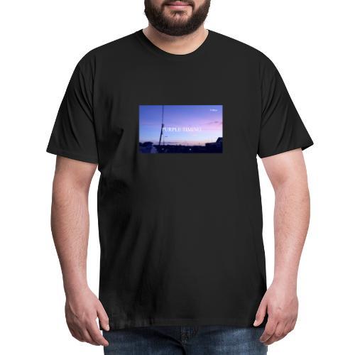 Purple Timing - Men's Premium T-Shirt