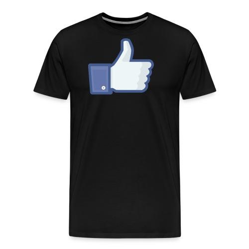 Facebook like thumb png - Herre premium T-shirt