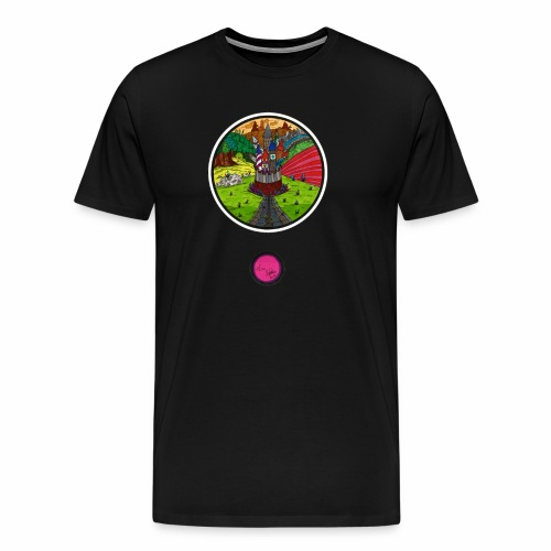 Le château oublié - T-shirt Premium Homme