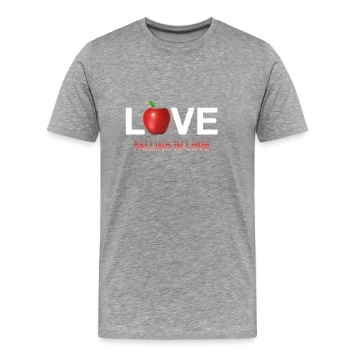LoveLife Falling in Love - Men's Premium T-Shirt