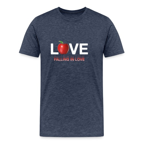 LoveLife Falling in Love - Men's Premium T-Shirt