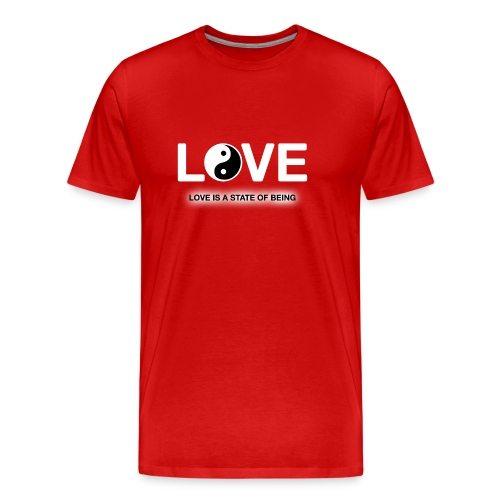 Love is a State of Being - Men's Premium T-Shirt