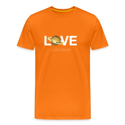 Love Rings - Men's Premium T-Shirt