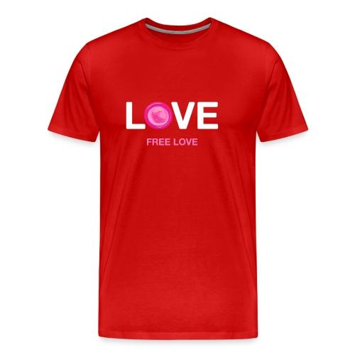 Free Love - Men's Premium T-Shirt