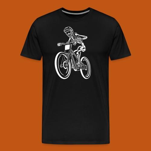BMX / Mountain Biker 04_weiß - Männer Premium T-Shirt