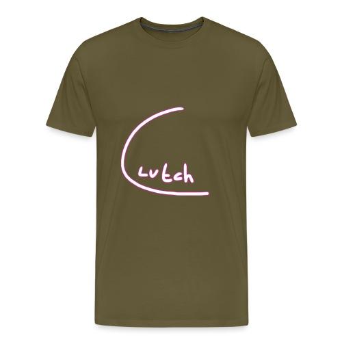 clutchcees huge logo png - Mannen Premium T-shirt