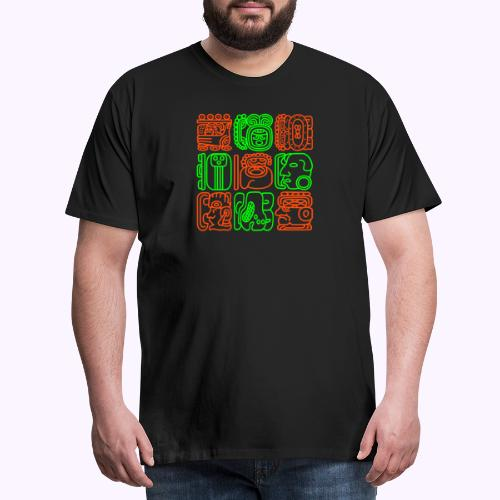 Mayan Bolontiku - Men's Premium T-Shirt