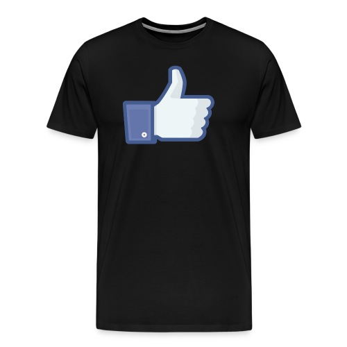 Facebook like thumb png - Herre premium T-shirt