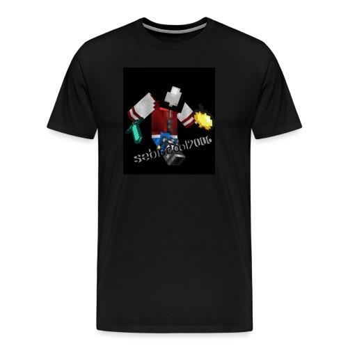 Sebastian yt - Herre premium T-shirt