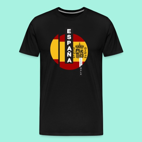 España como molo - Camiseta premium hombre