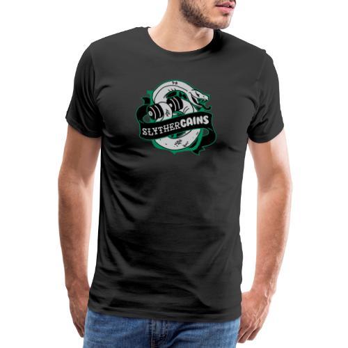 Hogweights Swolecraft Liftery Slythergains - Männer Premium T-Shirt