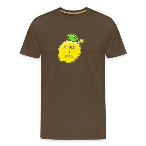 Go Suck A Lemon - Men's Premium T-Shirt
