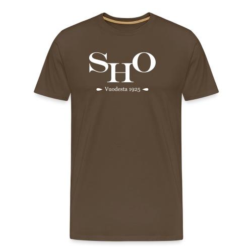 SHO - Miesten premium t-paita