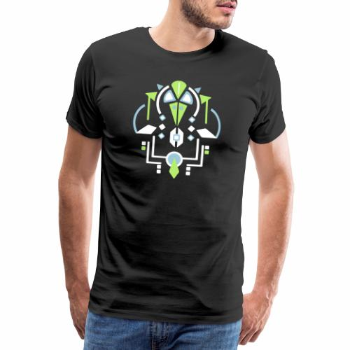 Vogel Navota design - Mannen Premium T-shirt