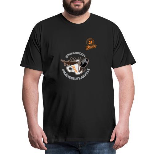 BUKK hockey maviensutkahville - Miesten premium t-paita